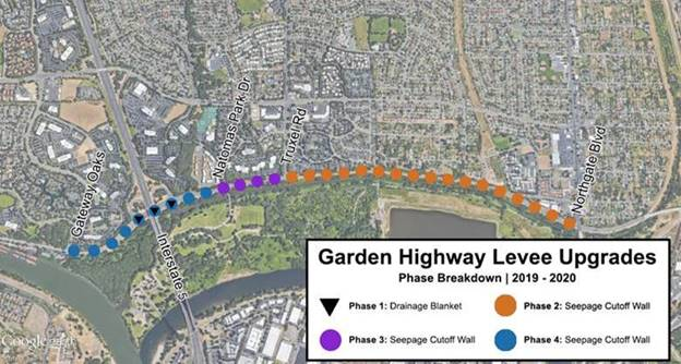 Garden Highway Construction Extended To The End Of The Year