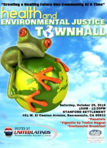 Health & Environmental Justice Town Hall @ Stanford Settlement Neighborhood Center